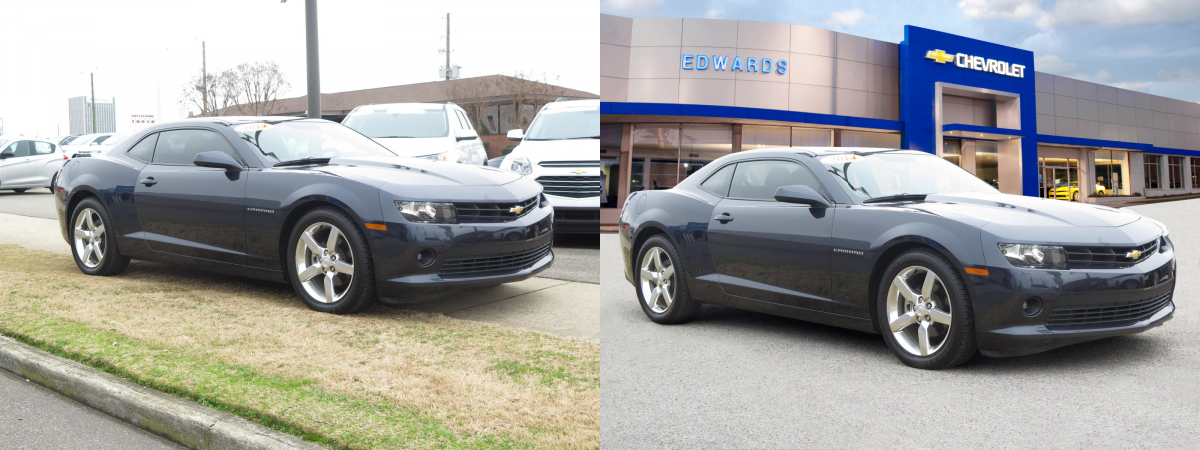 car image editing service